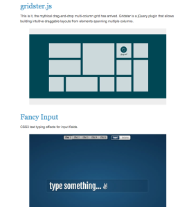 Best jQuery Plugins of 2013