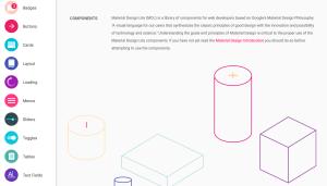 Meterial Design Lite Components